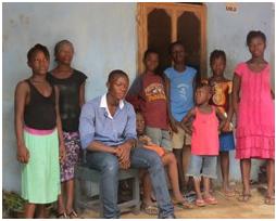 Nine Ebola Orphans